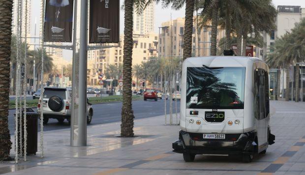 Prueban un sistema de transporte público sin conductores